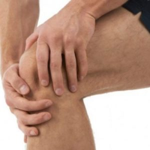 A man is suffering from Knee pain issues