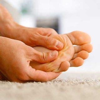 Deep Vein Thrombosis on the foot